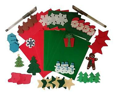 Make Your Own Christmas Cards Kit Childrens 10 Cards & Envelopes  • 4.75£
