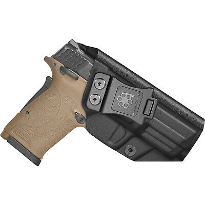 $21.59 • Buy Amberide IWB KYDEX Holster Fit: Smith & Wesson M&P 9mm Shield EZ