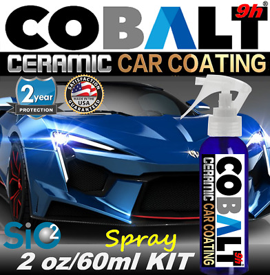 $21.95 • Buy Nano Ceramic Car Coating Spray Pro Grade  9h Paint Sealant  Car Polish Wax Gloss