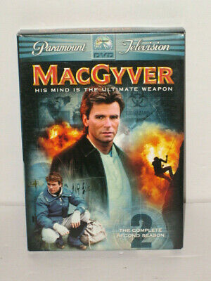 $11.95 • Buy MacGyver - The Complete Second Season (DVD, 2005, 6-Disc Set)
