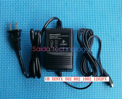 For BEHRINGER Mixer UB502 602 802 XENYX1002 1202 Power Adapter Transformer 3-pin • 41£