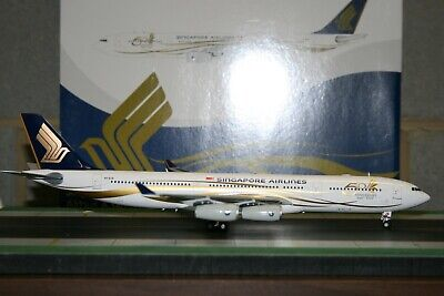 AU498 • Buy JC Wings 1:200 Singapore Airlines Airbus A340-400 9V-SJE  50th  (XX2668)