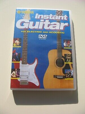 Yamaha Instant Electric/acoustic Guitar DVD • 1.99£