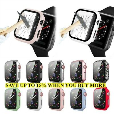$ CDN3.01 • Buy Screen Protector Matte PC Case IWatch 40mm 44mm For Apple Watch Series 6 5 4