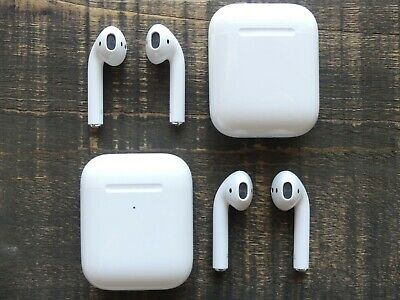 $ CDN54.77 • Buy Apple AirPods 2nd Generation - Left, Right Or Charging Case Box Replacement Only