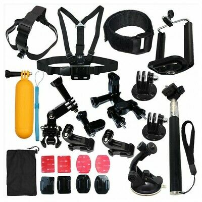 $ CDN20.04 • Buy Gopro Camera Accessories Kit For Gopro Go Pro Hero 7 Black 6 5 4 Motorcycle