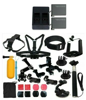 $ CDN25.05 • Buy Gopro Camera Accessories Kit For Hero 7 Black 6 5 Plus Battery And Charger Kit