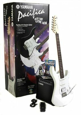 Yamaha Pacifica 012 Electric Guitar & Amp Pack - Vintage White - 20% Discount • 262.40£