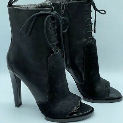 AU275.50 • Buy Alexander Wang Lace Up Heel Boots