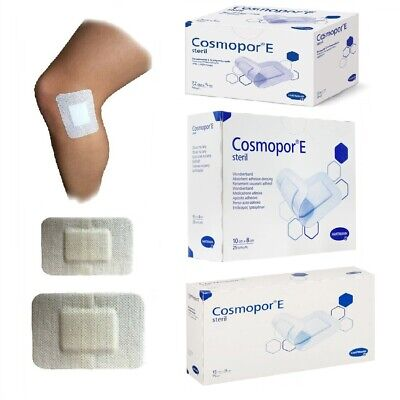 £5.48 • Buy Cosmopor E Adhesive Sterile Dressings - First Aid Plasters Cuts & Wounds, Burns