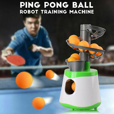 AU37.91 • Buy Table Tennis Pong Robot Automatic Ball Launcher Training Exercise Machine