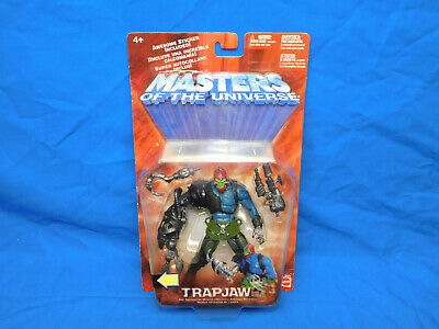 $29.99 • Buy Trapjaw Action Figure 200x Masters Of The Universe 2001 MOTU He-man