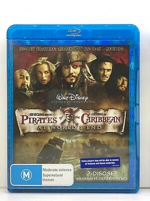 AU8.87 • Buy BLU-RAY - Pirates Of The Caribbean - At World's End - Johnny Depp -FREE POST #P5
