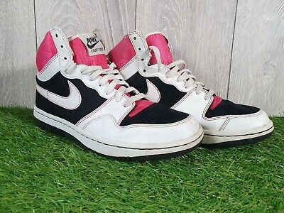 NIKE Court Force High Tops,     Size 7.5 • 25£