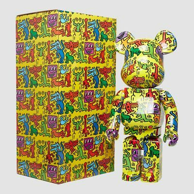 $1100 • Buy Keith Haring #5 Bearbrick Be@rbrick 1000% New In The Box
