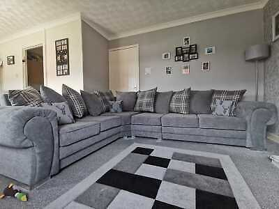 £749 • Buy Verona Sofa 5 Seater 6 Seater 7 Seater With Extension Left Or Right Hand Corner