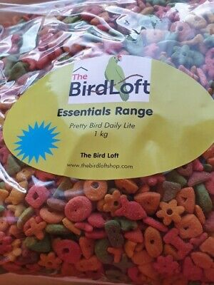 Pretty Bird Daily Lite Complete Food For Overweight Parrots - 1 Kg               • 11.32£