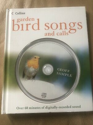 Collins Book Bird Songs And Calls With CD • 4.99£