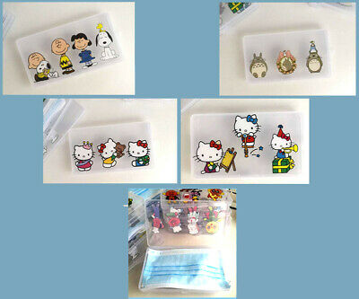 £4.50 • Buy Snoopy/Hello Kitty/Totoro Carry Case Face Mask Portable Travel Storage Box