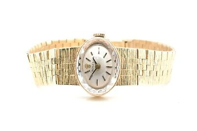 $ CDN1955.10 • Buy Rolex Vintage 16 Mm Yellow Gold Case And Bracelet Champagne Dial 16 Mm