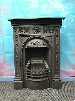 Victorian Cast Iron Fireplace Woodburning DELIVERY Free Or £35 Most  UK • 395£