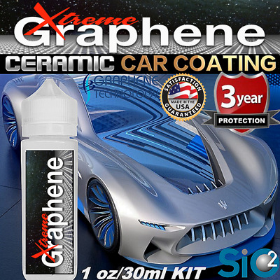 $23.95 • Buy Ceramic Car Coating Pro Grade Graphene Paint Sealant Si02 Car Polish Wax - Gloss