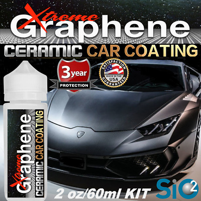 $36.95 • Buy Ceramic Car Coating Wet Look Paint  Pro Grade Graphene  Paint Sealant Protection