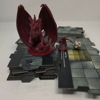 AU26.08 • Buy Dungeons And Dragons D&D Wrath Of Ashardalon Red Dragon Miniature Tiles D20 Dice