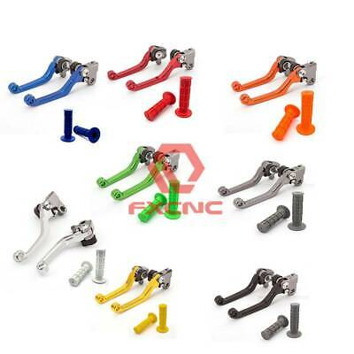 $28.98 • Buy For  CRF 123 250 150 450 CR80R/85R Pivot Dirtbike Brake Clutch Levers Grips