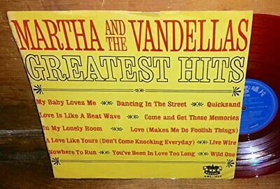VINYL Martha And The Vandellas Greatest Hits RED Taiwan Record • 14.49£