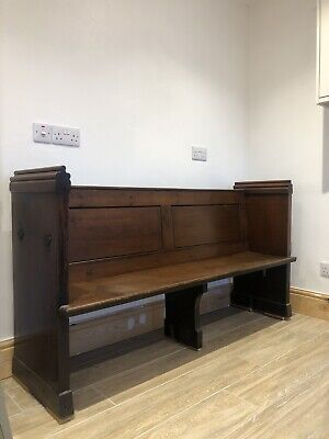 £300 • Buy Pitch Pine Victorian Church Pew Settle