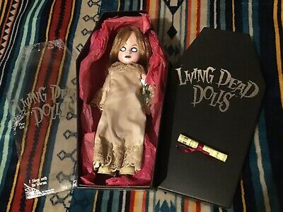 LIVING DEAD DOLLS SERIES 1 POSEY In Box W/Certificate 2000 NO NAME PLATE • 74.93£