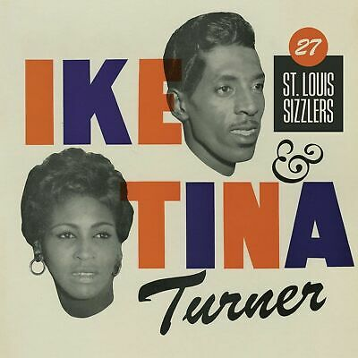 Ike & Tina Turner : 27 St.louis Sizzlers (2cd Set) - Brand New And Sealed Cd+ • 4.25£