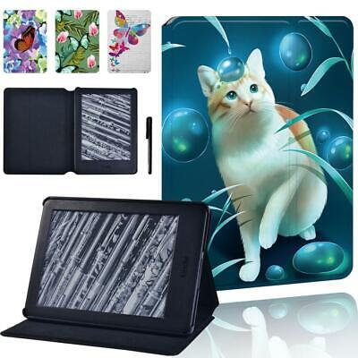 £7.99 • Buy Animasl Sign Leather Stand Cover Case For Amazon Kindle 8/10th Paperwhite 12/3/4