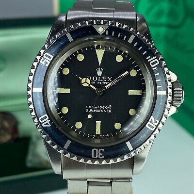 $ CDN23986.93 • Buy 1967 Vintage Rolex Submariner 5513 Meter First & Full Set Box Papers