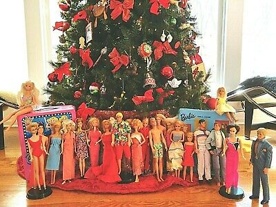 $ CDN25.94 • Buy Vintage 1960-70 Barbie Ken Skipper Midge Doll Lot Of 23 Twist & Turn