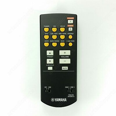 WH60980 Zone Remote Control RAV26 For Yamaha RX-V1700 DSP-AX1700 • 24.20£