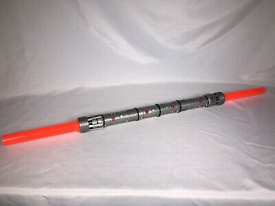 1999 DARTH MAUL Electronic Double Bladed Lightsaber Star Wars Episode I Hasbro • 104.90£