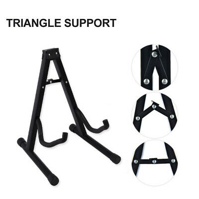 $ CDN41.80 • Buy Guitar Stand Acoustic Electric Bass A Frame Floor Rack Holder Hanger Foldable