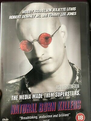 Natural Born Killers (DVD, 2003, Director's Cut) Woody Harrelson • 2.09£