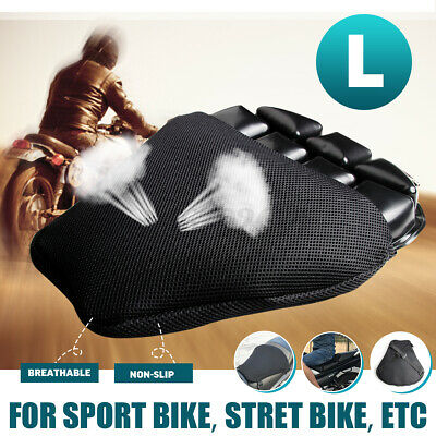 Motorcycle 3D Seat Air Cushion Pad Cover Comfortable Pressure Relief For YAMAHA • 17.99£