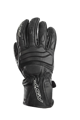 RST Jet Urban Road Commuter Leather Motorcycle Scooter Gloves • 29.99£