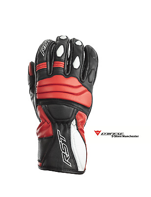 RST Jet Urban Road Commuter Leather Motorcycle Scooter Gloves S • 29.99£