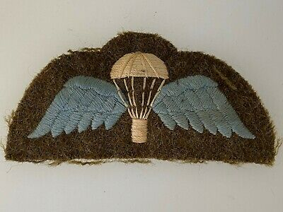 WW2 Style British Army Parachute / Paratrooper Cloth Jump Wings -padded  • 37.50£