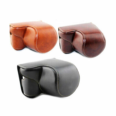 $ CDN29.33 • Buy PU Leather Camera Bag Case Cover Pouch For Sony A5000 A5100 A6000 A6300 Top