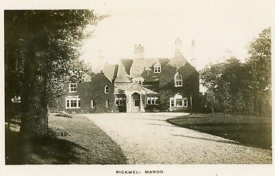 Pickwell Nr Melton Mowbray Good RP Pickwell Manor & Grounds • 9£