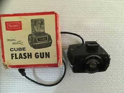 $10 • Buy Sears Mini Magic Cube  Flash Gun 8032