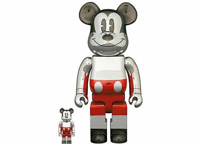 $399.99 • Buy BEARBRICK FUTURE MICKEY MOUSE 2nd COLOR 100%400% Medicom DCON 2020 Exclusive
