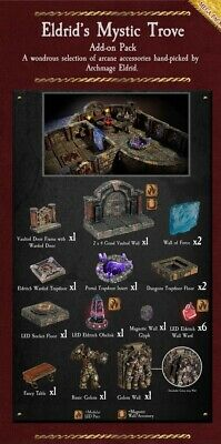 $ CDN227.75 • Buy Dwarven Forge Eldrid's Mystic Trove D&D Terrain Tiles 5-ELDRID-X-P PAINTED NEW