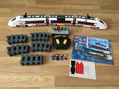 Lego City Passenger Train Set 7897 Include Motor Function, Remote And Minifigure • 149.99£
